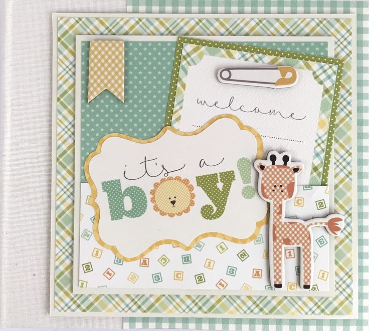 Artsy Albums Scrapbooking Kits and Custom Designed Scrapbook Albums by Traci Penrod: Carta Bella It's A Boy It's A girl Baby Album Kits