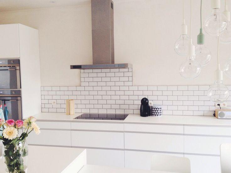 25 beste idee n over metrotegels op pinterest metrotegel keuken tegels en metro tegel keuken - Metro tegels ...