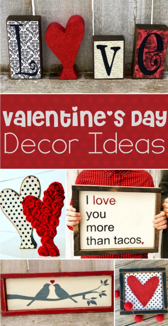 Valentine S Day Decor Ideas These Are Some Of The Cutest Wooden