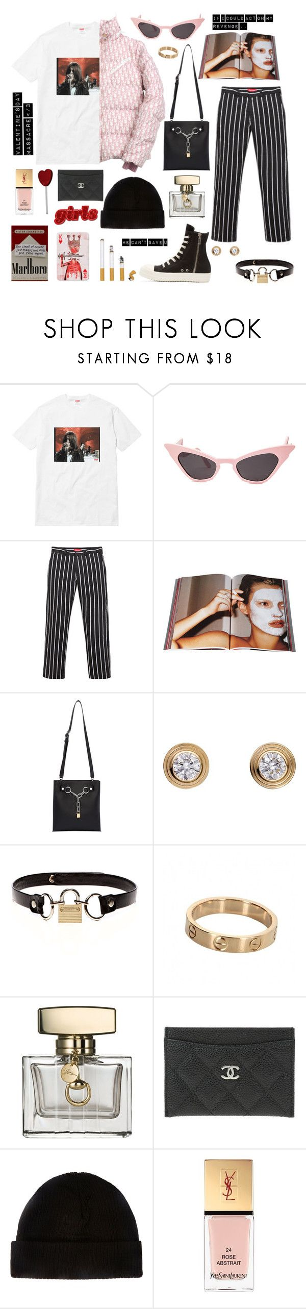 """Iron Man"" by lilslipknot ❤ liked on Polyvore featuring Taschen, Alexander Wang, Cartier, Rodarte, Gucci, Chanel and Yves Saint Laurent"