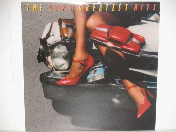The Cars Greatest Hits - Elektra Records 1985 - New Wave - Dance Pop - Pop Rock - Vintage Vinyl LP Record Album