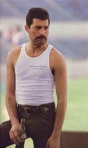 Freddie Mercury. I wonder what happened.