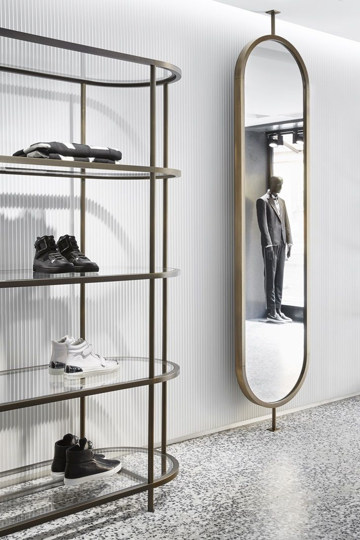 Convenient to have vrash mirror like that in bathroom or preproom