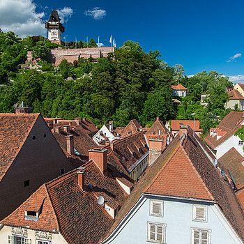 Rooftops in Graz © Graz Tourismus / Harry Schiffer