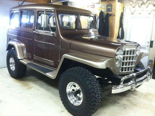 1953 Willys Station Wagon Custom - Photo submitted by Andy Titus.
