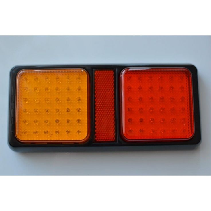 Combination LED rear, stop, turn, tail led light , 36 amber and 36 red led rear combination lightTwo bolt fixingSuitable 12 or 24 volt vehicles