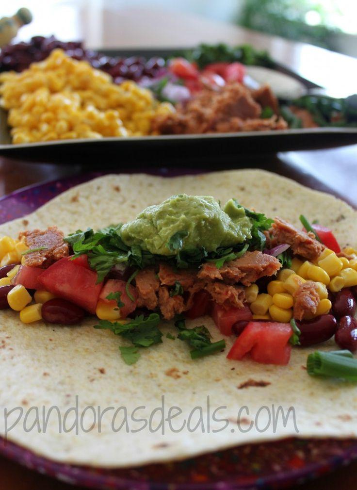 Sweet & Spicy Tuna Tacos Made With StarKist Tuna Creations