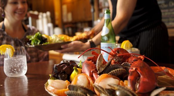 Nothing Says East of Ordinary more than a Great Seafood Festival! // Image: Nectar Restaurant, Bathurst, New Brunswick Canada