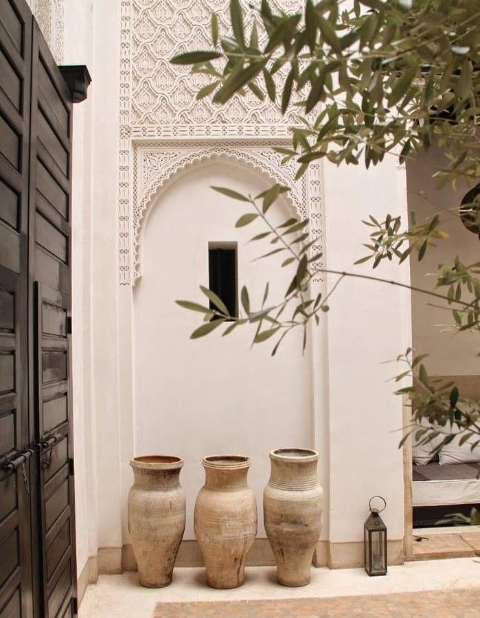 Ces 30 idées déco qu\'on pique aux riads marocains - Elle Décoration ...