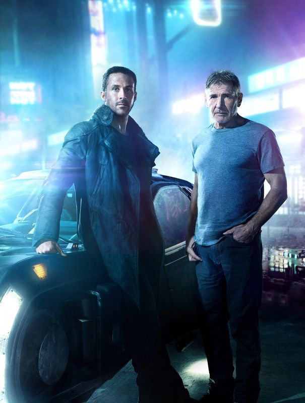 BLADE RUNNER 2049 (2017) Suspense/Thriller Sci-Fi/Fantasy - Ryan Gosling and Harrison Ford  - Thirty years after the events of the first film, a new blade runner, LAPD Officer K (Ryan Gosling), unearths a long-buried secret that has the potential to plunge what's left of society into chaos. K's discovery leads him on a quest to find Rick Deckard (Harrison Ford), a former LAPD blade runner who has been missing for 30 years. In theaters 10.6.17. | Warner Bros. Pictures