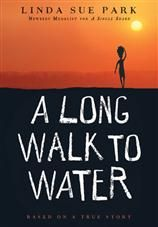 """A Long Walk to Water begins as two stories, told in alternating sections, about a girl in Sudan in 2008 and a boy in Sudan in 1985. The girl, Nya, is fetching water from a pond that is two hours' walk from her home: she makes two trips to the pond every day. The boy, Salva, becomes one of the """"lost boys"""" of Sudan, refugees who cover the African continent on foot as they search for their families and for a safe place to stay. #TeacherResources"""