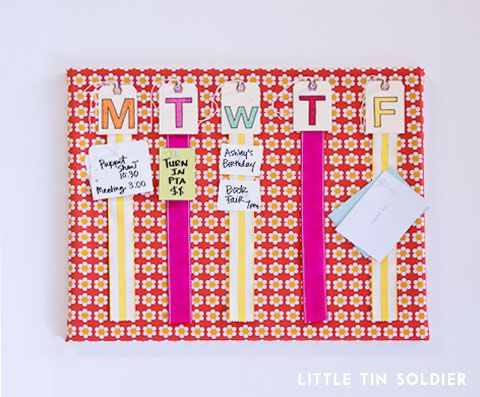 Cute bulletin board project for back to school!