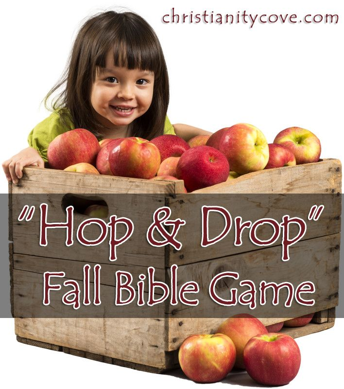 Autumn is a time of harvest. Jesus often referred to the harvest as the time when you get to reap all the rewards for your hard work. This Fall Bible game will teach students that they will reap their harvests—their rewards from God—if they p