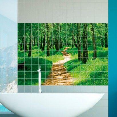 Forest Tile Murals