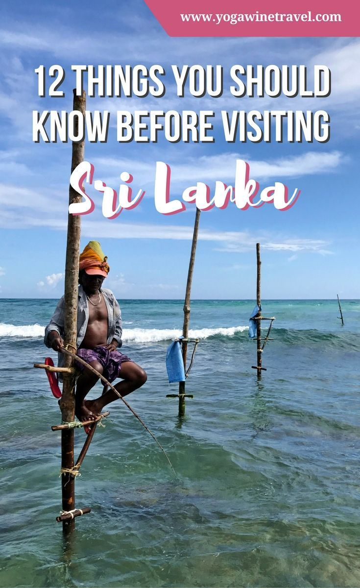 Yogawinetravel.com: 12 Things You Should Know Before Visiting Sri Lanka