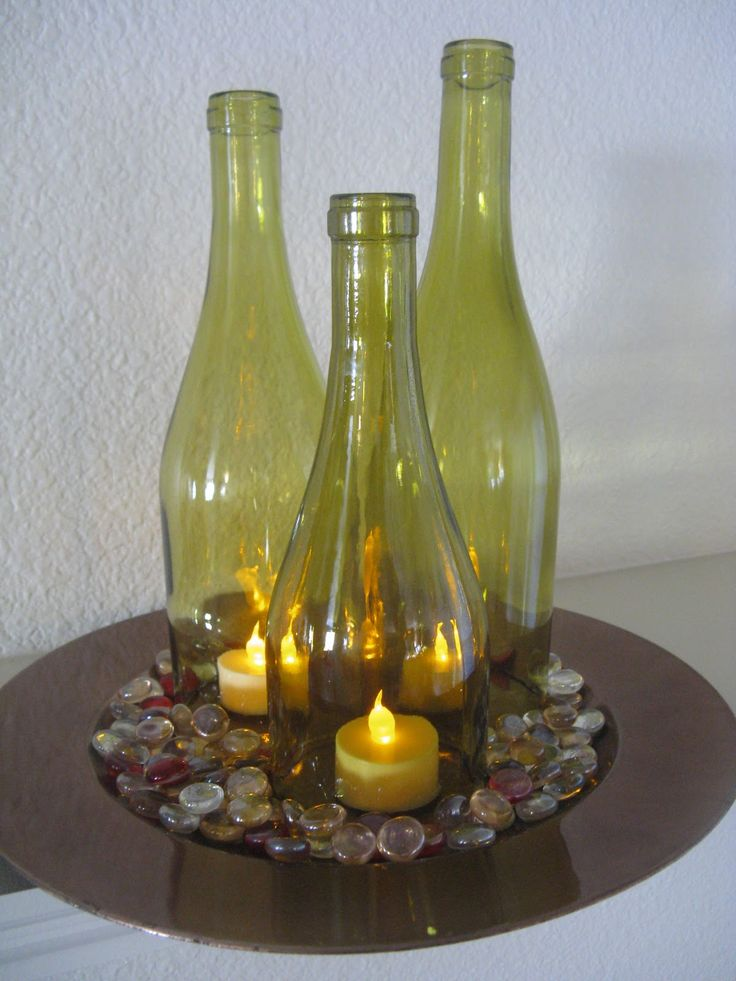 20 best images about botellas de vidrio on pinterest for Crafts with corks from wine bottles