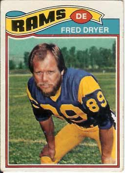 Actor Fred Dryer Played both College and Professional Football