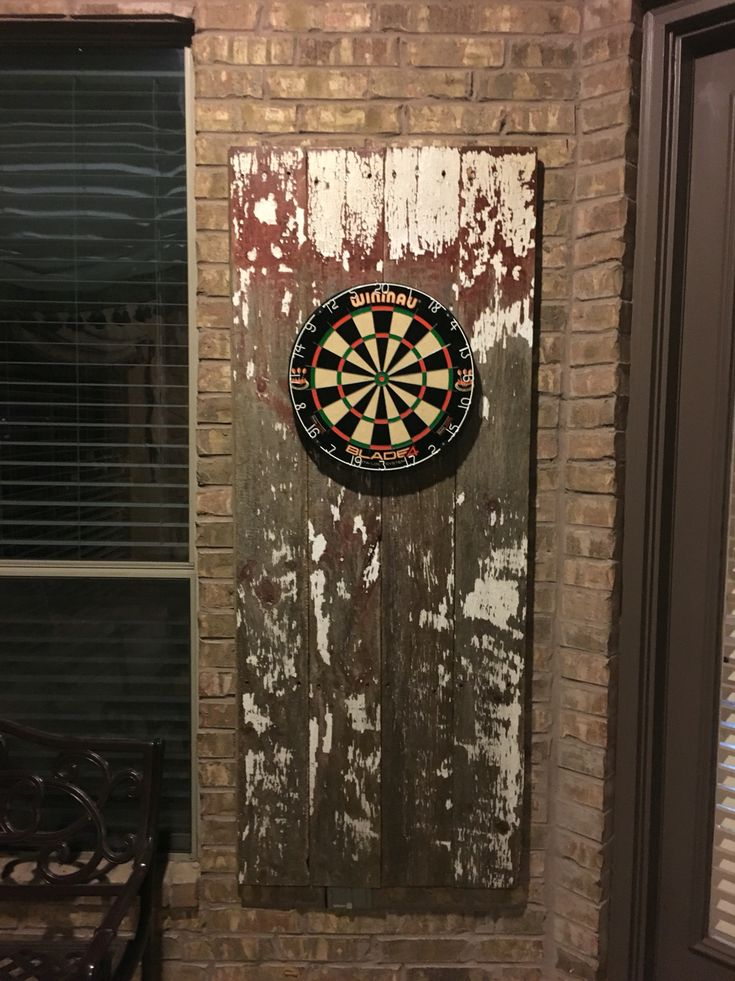 Just Finished Putting Together My New Dart Board With