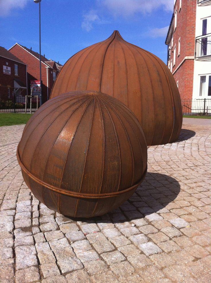 Corten Steel Sculpture Designed By Artist Rachel Carter