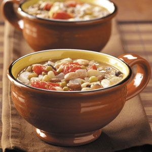 Trying this tomorrow for dinner...after all the talk this week about bean fields I really had no choice! :)