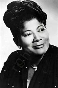 """Mahalia Jackson was an American gospel singer. Possessing a powerful contralto voice, she was referred to as """"The Queen of Gospel""""."""