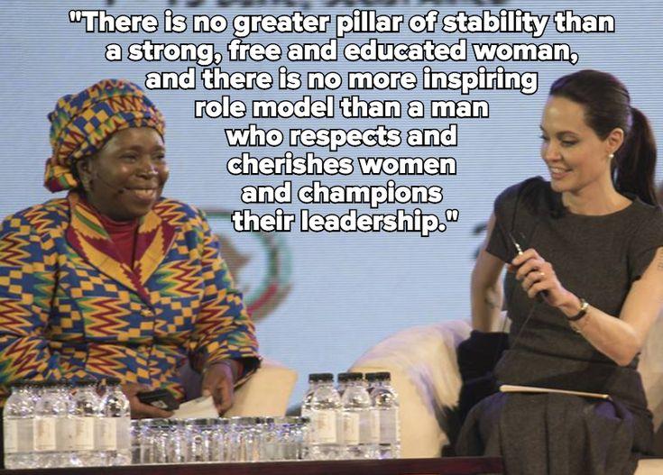 Angelina Jolie's Feminist Speech on Sexual Violence Deserves a Standing Ovation
