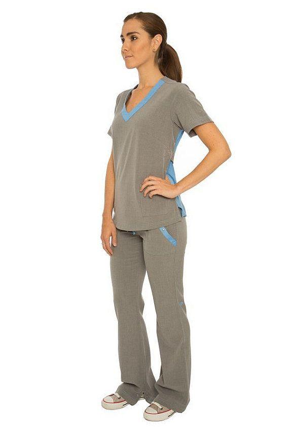 Médico friegue mujeres de gran TOP. Camisa superior de por EmmiWest