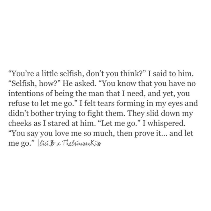 let me go - Letting Go Quotes