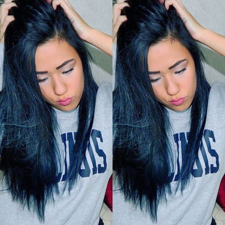 hair dying styles for hair midnight blue back ion demi hair dye hair blue black 5774