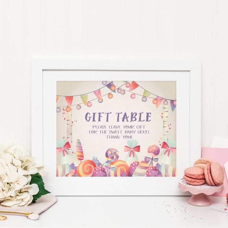 1000 ideas about gift table signs on pinterest wedding for Table 6 gift card