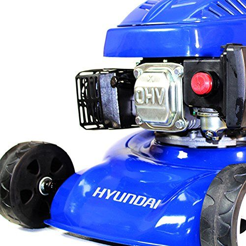Garden Equipment - Hyundai HYM43SP Petrol Powered Self-Propelled Rotary Lawn Mower
