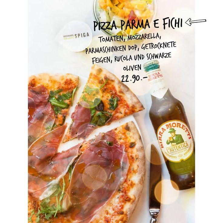 Attenzione, attenzione... wir bringen euch den ultimativen Adventschmaus: Pizza Parma e fichi! Mit Tomatensugo, Mozzarella, Parmaschinken DOP, getrockneten Feigen, Rucola und schwarzen Oliven, frisch für euch gebacken für CHF 22.90.- Buon appetito.