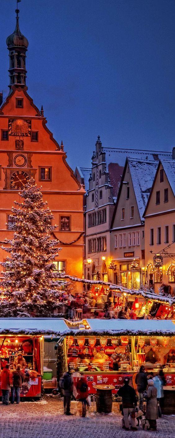Christkindles Market Nuremberg, Germany: