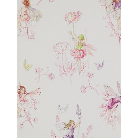 Buy Jane Churchill Meadow Flower Fairies Wallpaper Online at johnlewis.com