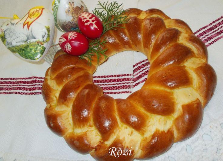 Rozi erdélyi,székely konyhája: Húsvéti kalács,kókonya