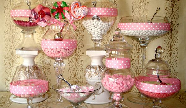 Candy decorations party ideas pinterest creative candy table and centerpieces - Candyland party table decorations ...