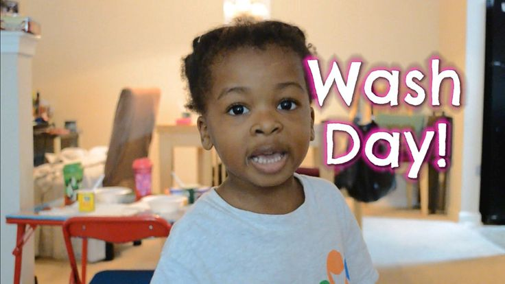 The Cutest Natural Hair Wash Day Tutorial EVER -- Natural Hair Kids