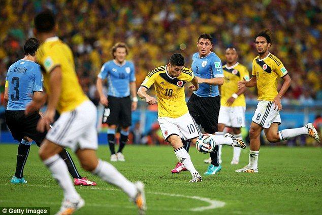 Brasil 2014: Uruguay v/s Colombia Photos | Football Wallpapers