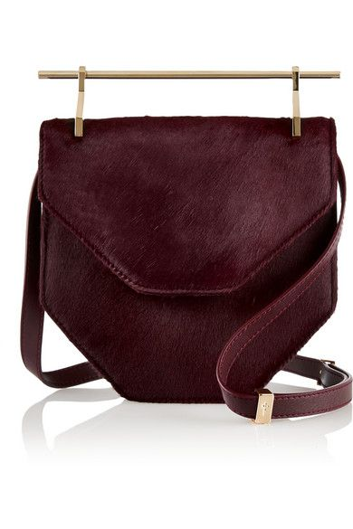 dd536b381a M2Malletier I love this bag in burgundy...Very unique design.