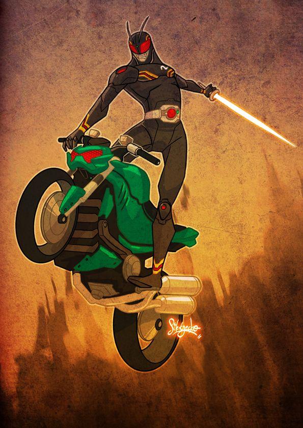 Kamen_Rider_Black___Re_design_by_silentgecko.jpg (595×842)