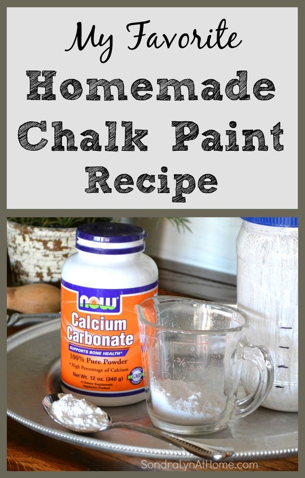 DIY Chalk Paint Recipe