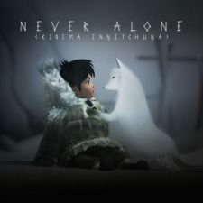 Never Alone (Kisima Ingitchuna). PLEASE BUY NEVER ALONE IT'S AN INDIE GAME IN WHICH YOU PLAY AS AN ALASKAN GIRL WITH HER ARCTIC FOX AND IT CONTAINS TRADITIONAL INDIGENOUS STORYTELLING  IT'S MADE BY THE FIRST INDIGENOUS-OWNED VIDEO GAME DEVELOPER AND PUBLISHER IN U.S. HISTORY