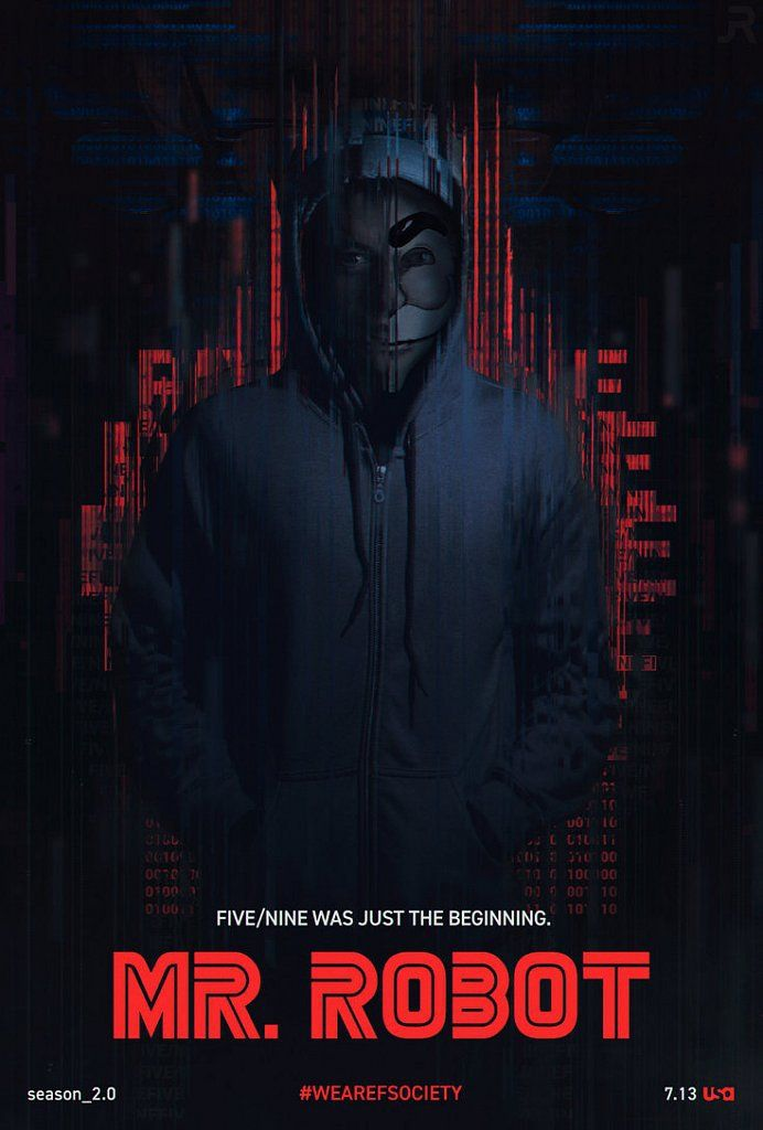 Image result for Mr. Robot Season 3 poster