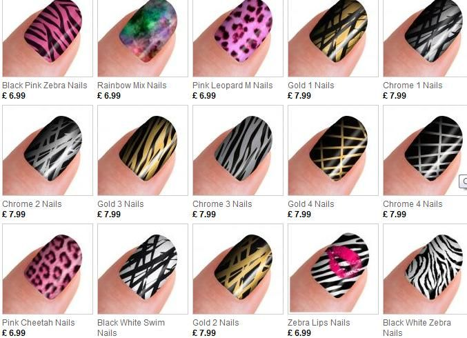 Wonderfull nail art sticker