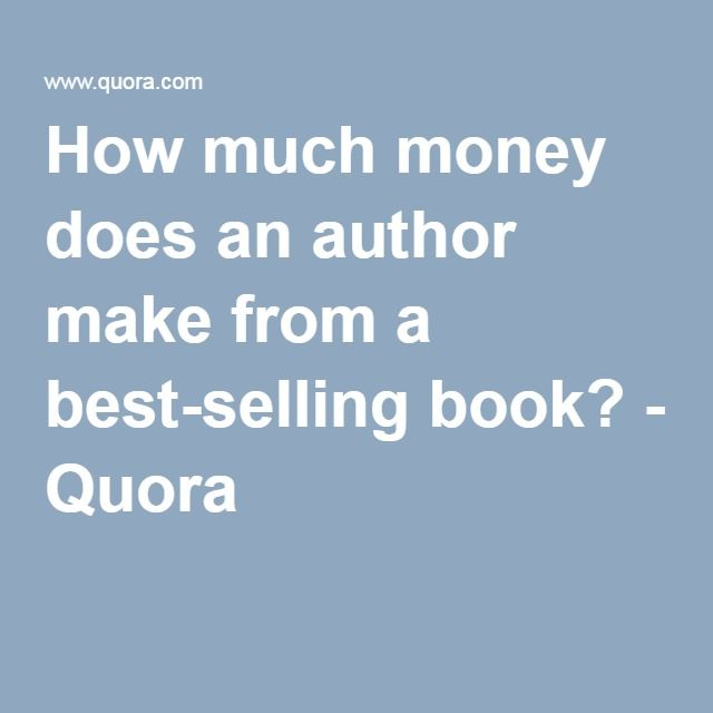 How to make a best selling book