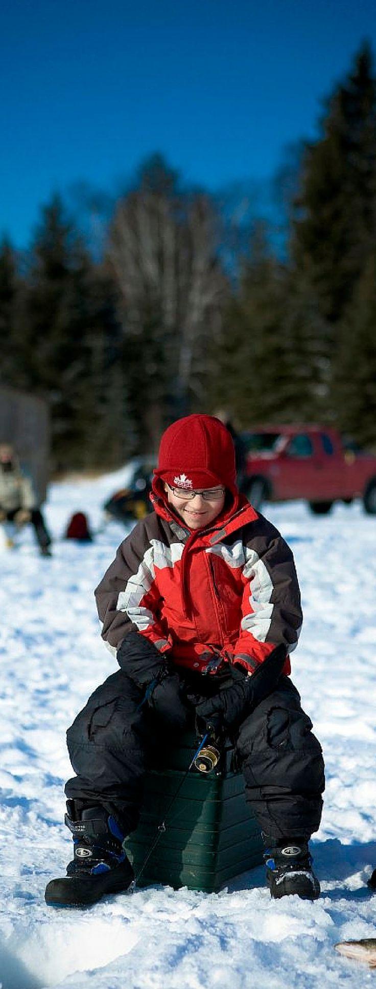 Fish for dinner. Snowcation in Canada.  Photo: Tourism Saskatchewan/Greg Huszar Photography