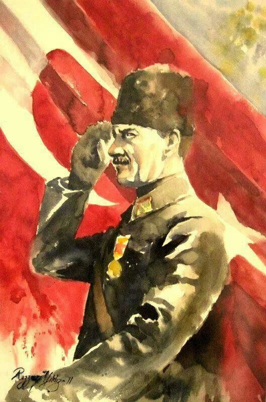 The Founder of Türkiye Mustafa Kemal Atatürk