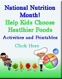 National Nutrition Month® Resources for teachers - a website I want to go back to when I have more time