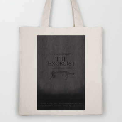 The Exorcist (1973) Tote Bag by OurbrokenHouse - $18.00