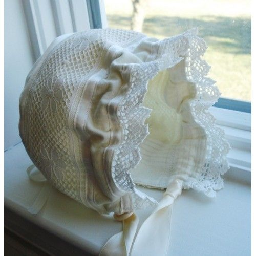 Adjustable Knot Baby Bonnet by Precious Patterns PDF Sewing Pattern - Allegro DigiPatterns
